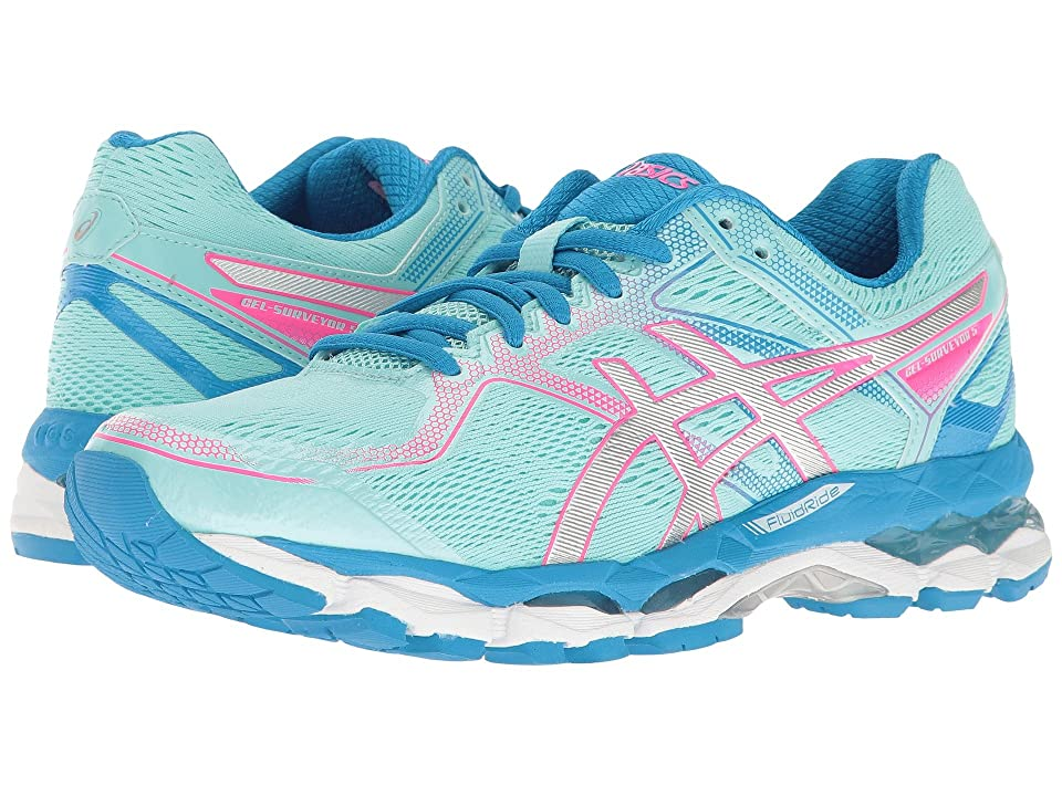ASICS Gel-Surveyor(r) 5 (Aqua Splash/Silver/Diva Blue) Women