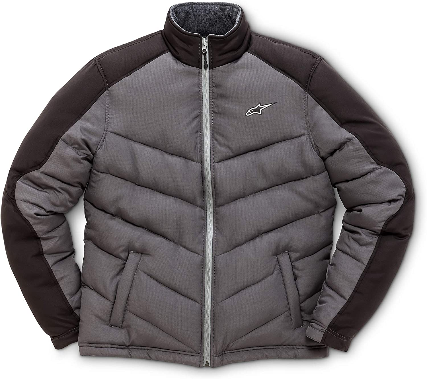 Alpinestars Men's Polyfilled Warm Jacket, RipStop Coated Fabric