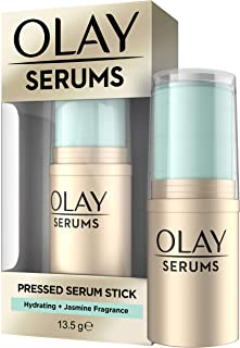 Olay Hydration Pressed Serum Stick with Jasmin Fragrance for Instant Hydration, 13.5 g