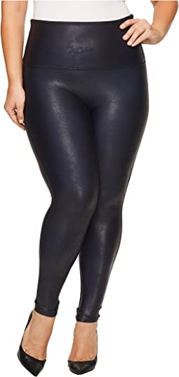 Spanx Plus Size Faux Feather Leggings