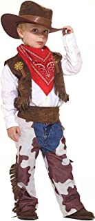 Forum Novelties Cowboy Kid Costume, Toddler Size