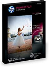 HP Photo Paper Premium Plus, Glossy, (4x6 inch), 100 sheets