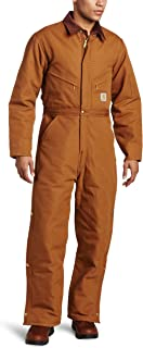 Men's Quilt Lined Duck Coveralls X01