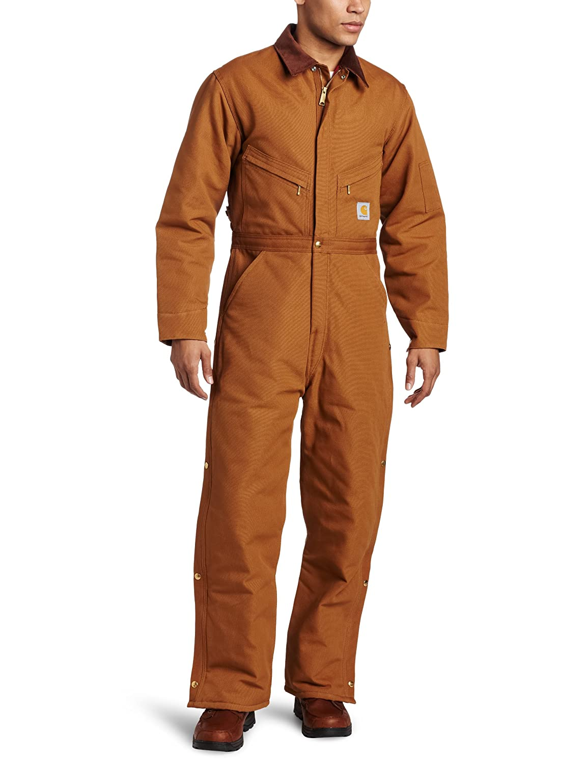 Carhartt Men's Big & Tall Arctic Quilt Lined Duck Coveralls X01