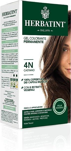 Herbatint 4D Golden Chestnut Permanent Herbal Hair Colour gel 135 ml