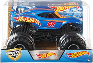 Hot Wheels Monster Jam Truck, 1: 24 Scale Toy