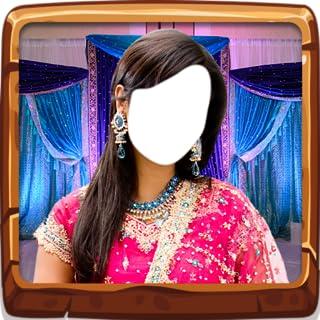 Editor de fotos indio de la novia
