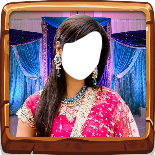 Indische Braut Foto Editor