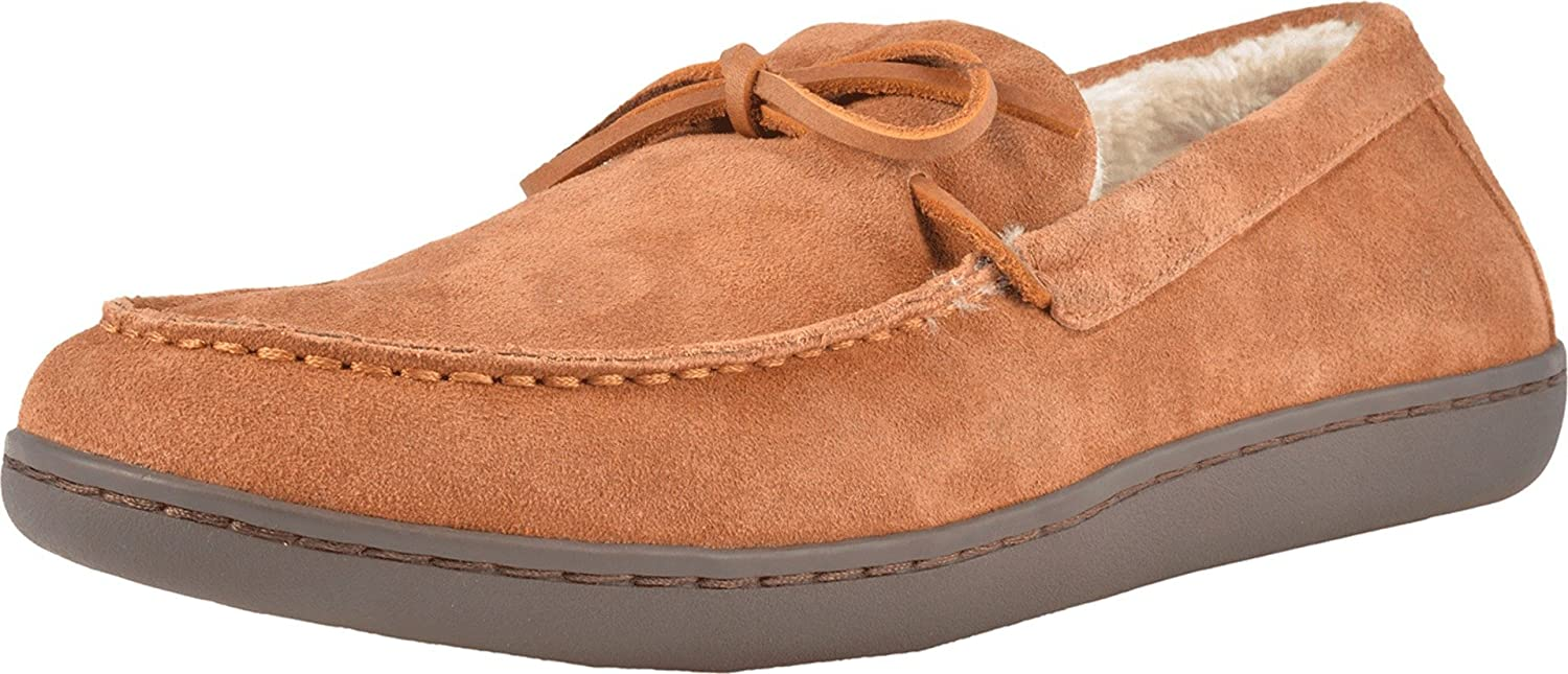 Vionic Men's Irving Adler Slipper Mesa Mall with Durable Fau - Rubber Sole Cheap mail order shopping