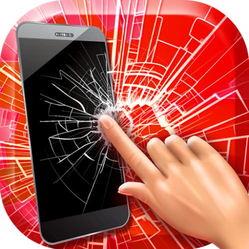 Cracked Screen Fake