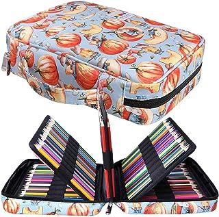 Peut Contenir 220 Trousses de Crayons de Couleur Jakago Grande Capacité Sac de Rangement étanche pour Crayons Aquarelle, M...