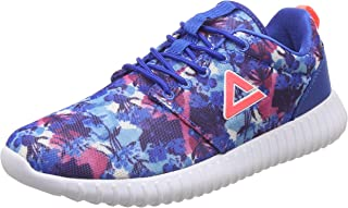PEAK Pink Synthetic Women's Fluorescent Running Shoes - 6 UK