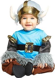 My Other Me Me-204978 Disfraz de bebé vikingo para niño, 1-2 años (Viving Costumes 204978