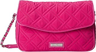 Vera Bradley Bag For Women,Fushia Pink - Flap Bags