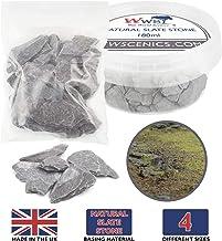 War World Scenics Natural Slate Stone - Sample Bag – Wargame Scenery Miniature Basing Material Landscape Model Modelling D...