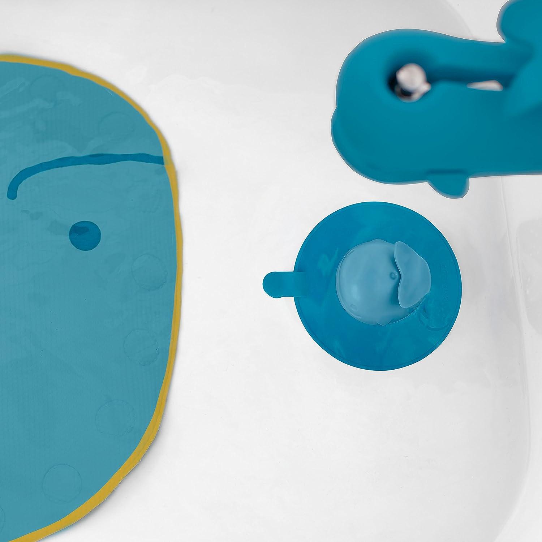 Skip Hop Bath Tub Stopper, Moby, Blue