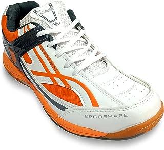 PRO ASE Court Badminton Shoe White/Orange/Black