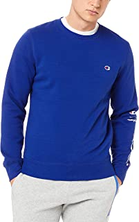 Champion Men's Graphic Tape Crew Pullover Sweat