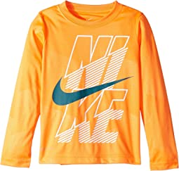 Block Dri-FIT Long Sleeve Tee (Little Kids)