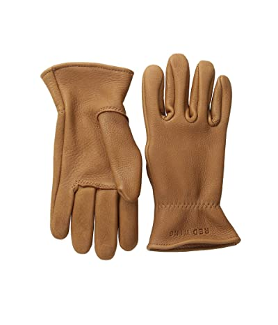 Red Wing Heritage Unlined Gloves (Nutmeg Buckskin) Cycling Gloves