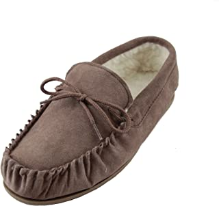 Sheepskin World 女式羊皮羊毛软帮鞋 - 硬底