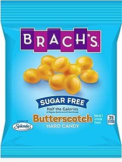 Brach's Sugar Free Butterscotch Hard Candy, 3.5 Ounce Peg Bag (Pack of 12)