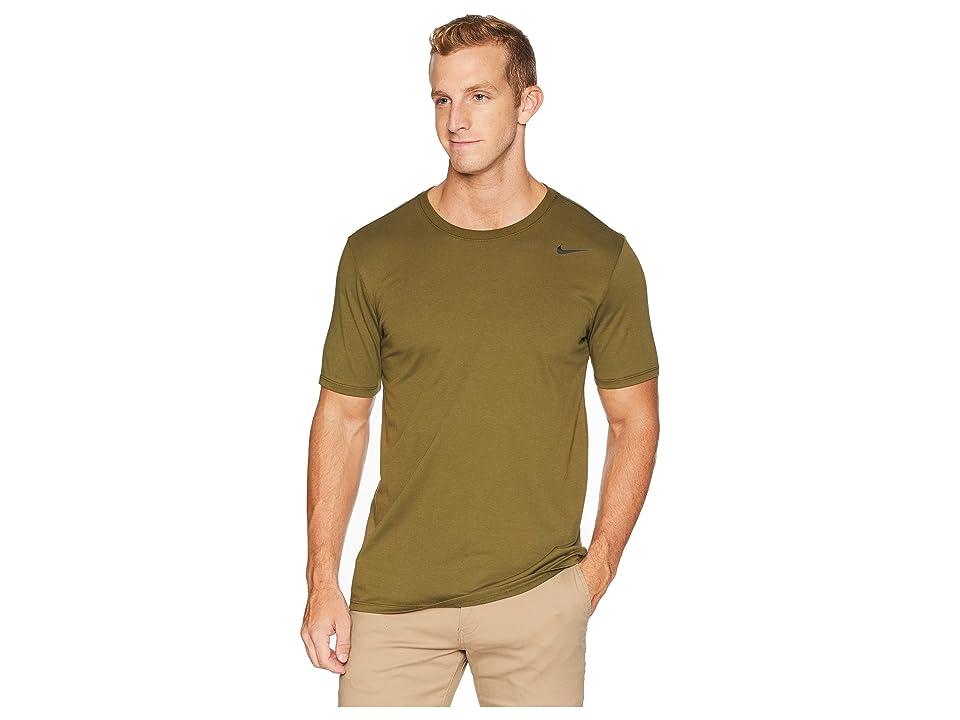 Nike Dri-FITtm Version 2.0 T-Shirt (Olive Canvas) Men