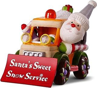 Hallmark Keepsake Christmas Ornament 2018 Year Dated, Santa's Sweet Snow Plow With Music and Light