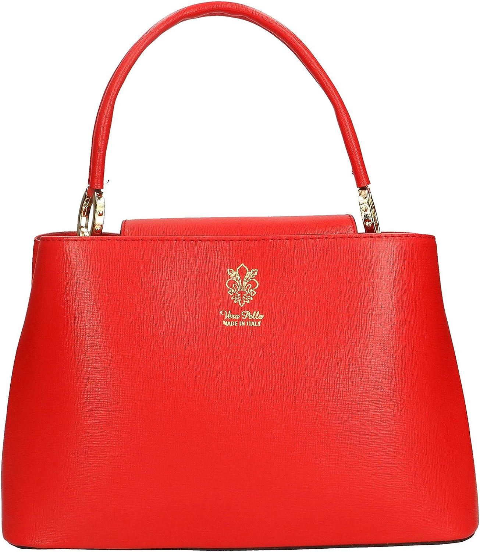 Aren - Damen Handtasche aus aus aus echtem Leder Made in  - 30x20x14 Cm B07CHGVG9X 9122d2