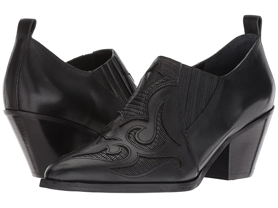 Marc Fisher LTD Charly (Black Leather) Women