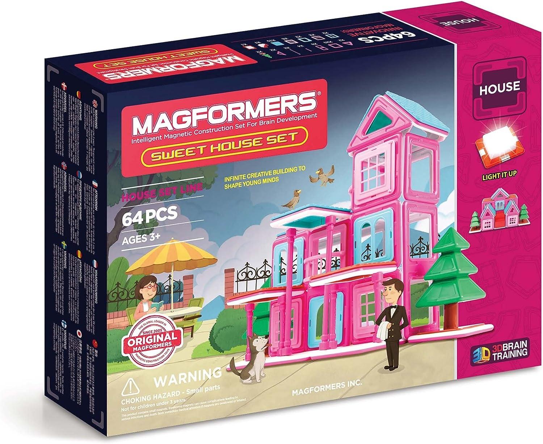 precio mas barato Magformers- Set de Piezas magnéticas para Construir Edificios (705001) (705001) (705001)  ventas en linea