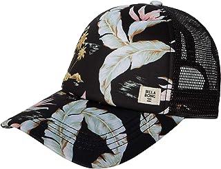 Billabong womens Heritage Mashup Adjustable Trucker Hat With Mesh Back Baseball Cap