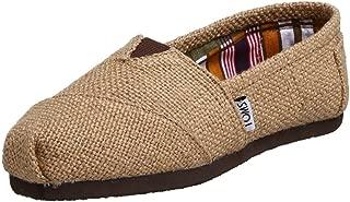 TOMS Classic Natural Burlap Womens Canvas Espadrilles Shoes Slipons