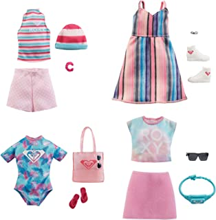 Barbie Fashions Assortment of Doll Clothes, 1 Outfit & Accessories for Barbie Dolls GWF05