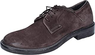 MOMA Oxfords Womens Suede Grey