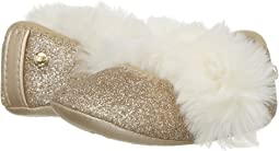 Fluff Glitter Ballet Flat (Infant/Toddler)