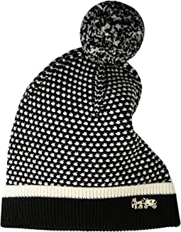 COACH - Icon Charm Knit Hat