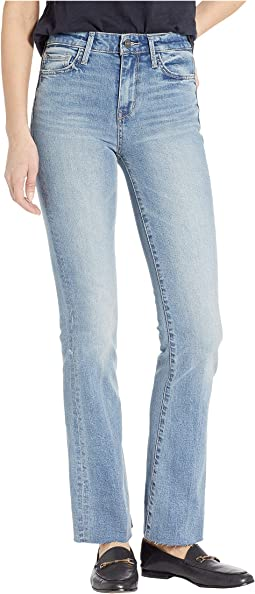 Stiletto High-Rise Bootcut Jeans in Courtney