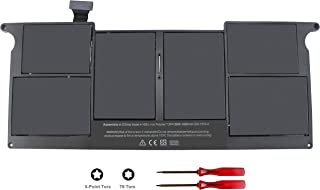 A1406 A1495 Laptop Battery for MacBook Air 11 inch A1465 (Mid 2012 2013 Early 2014 2015 Version) A1370 Mid 2011 MC968 MD223 MC506LL MD711 MC965LL 020-7376-A 020-7377-A - 12 Months Warranty