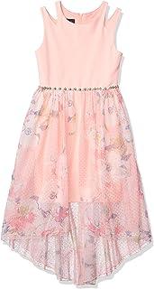 فستان حفلات برقبة طويلة ومنخفضة من Amy Byer