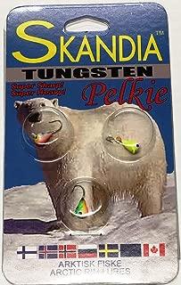 K&E Tackle Skandia Pelkie Tungsten Ice Jigs