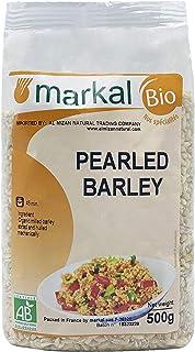 Organic Pearled Barley by Markal ,500gm (Brown)