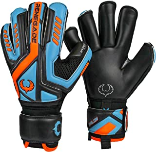 Renegade GK Talon Goalie Gloves (Sizes 5-11, 4 Styles, Level 2) Pro-Tek Fingersaves & 4mm Hyper Grip | Versatile Glove for All Ages & Levels | Superior Grip, Protection, and Comfort | Based in the USA