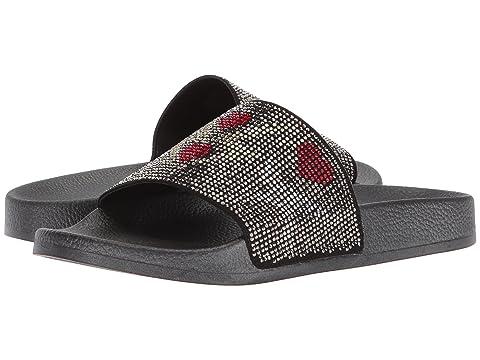 Outlet Professional Cheap Sale Websites Nine West Irllylikeu Slide Sandal Black Fabric ZF46k2