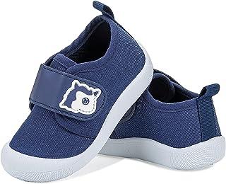 Zapatillas de Estar por casa Zapatos de Lona Niña Niño Infantil Zapatos de Deporte Suave Antideslizante