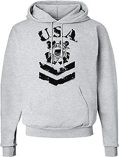 USA Military Coast Guard Stencil Logo Hoodie Sweatshirt