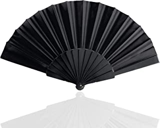 TK Gruppe Timo Klingler Fächer Spitzenfächer schwarz, Accessoire zu Fasching & Karneval & Hochzeit - Kostüm wie Gothic, Flamenco Schmuck