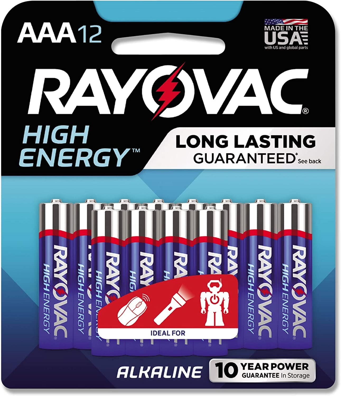RAY-O-VAC Wholesale 82412CF Alkaline Batteries 12 Alternative dealer AAA Pack