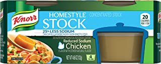 Knorr Homestyle Stock, Chicken Reduced Sodium, 4.66 oz