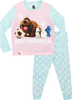 Secret Life Of Pets Pijamas de Manga Larga para niñas La